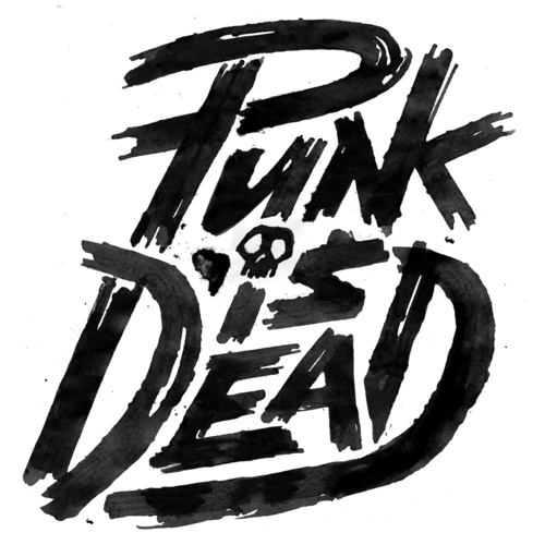 "Typeverything.com - ""Punk Is Dead"" by Friendsoftype.com"