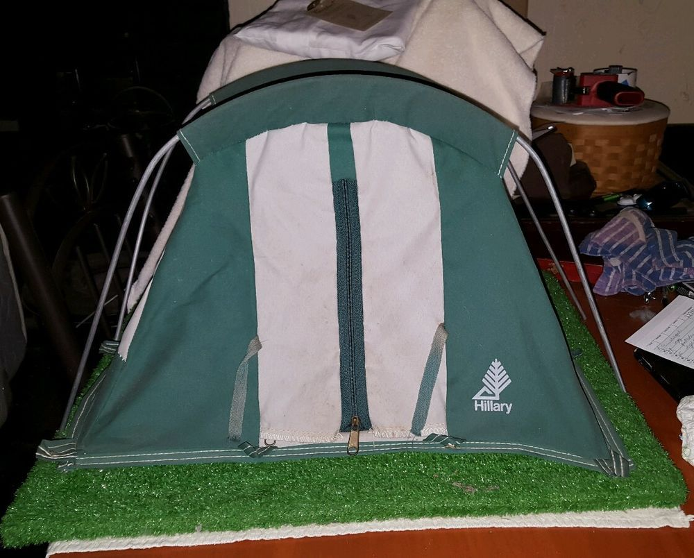 Hillary (Sears) Store Display Model Miniature Tent Salesman S≤ & Hillary (Sears) Store Display Model Miniature Tent Salesman Sample ...