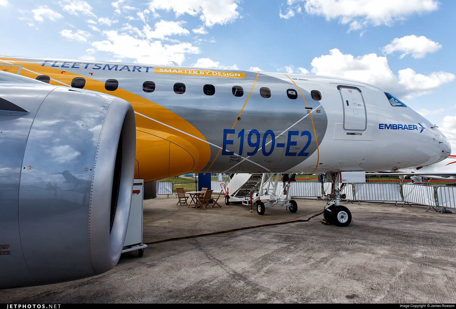 Photo of PR-ZEY Embraer 190-300STD by James Rowson