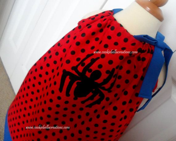 Polka Dot Pillowcases Awesome Spiderman Red & Blue Polka Dot Pillowcase Dress  Marvel  Blue Inspiration Design
