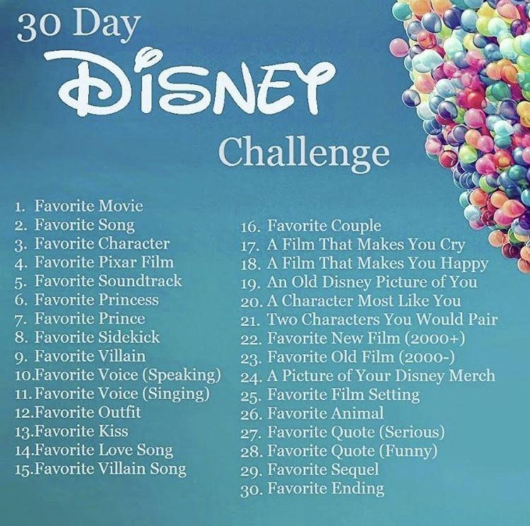 Photo of Reto de 30 días de Disney