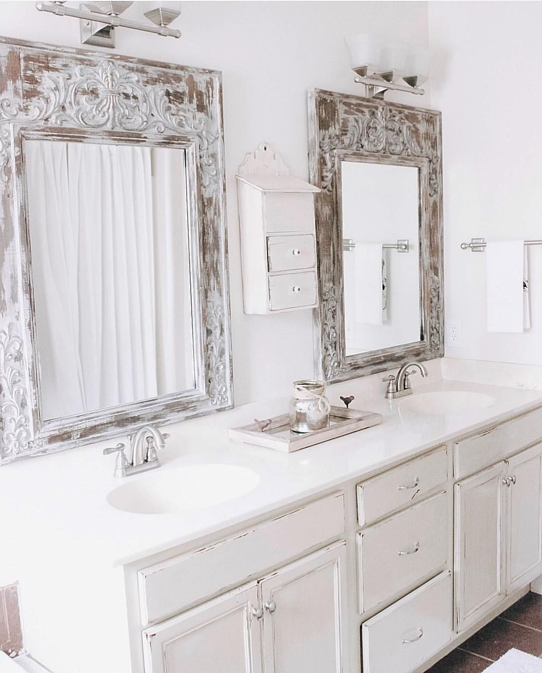 Flashbackfriday to our first redone DIY master bath. I