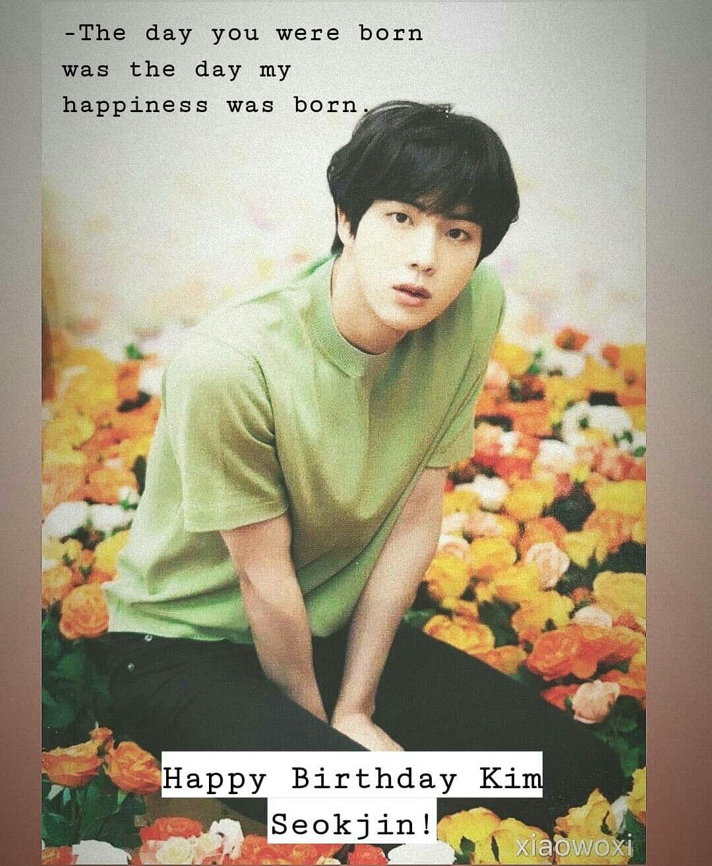 Kim Seokjin Kim Seokjin Seokjin Happy Birthday