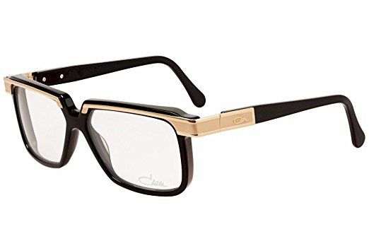 79014db7136 Cazal 650 001 Shiny Black Gold Eyeglasses 58 mm Review