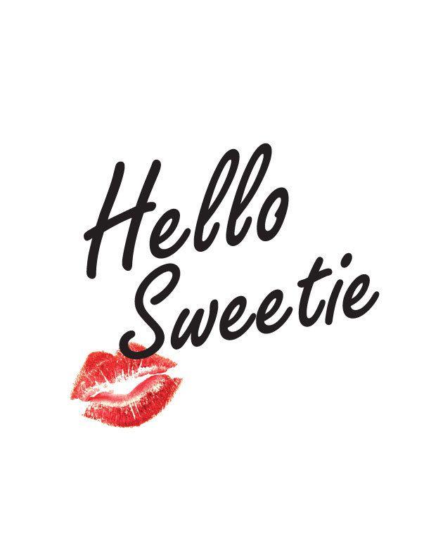 "Hello Whello Wgo To Www Bing Com: ""Hello Sweetie"" Doctor Who Print"