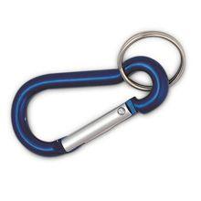 #Karabijnhaak met sleutelring - Bedrukken met jouw logo of tekst bij Bedrukken.nl