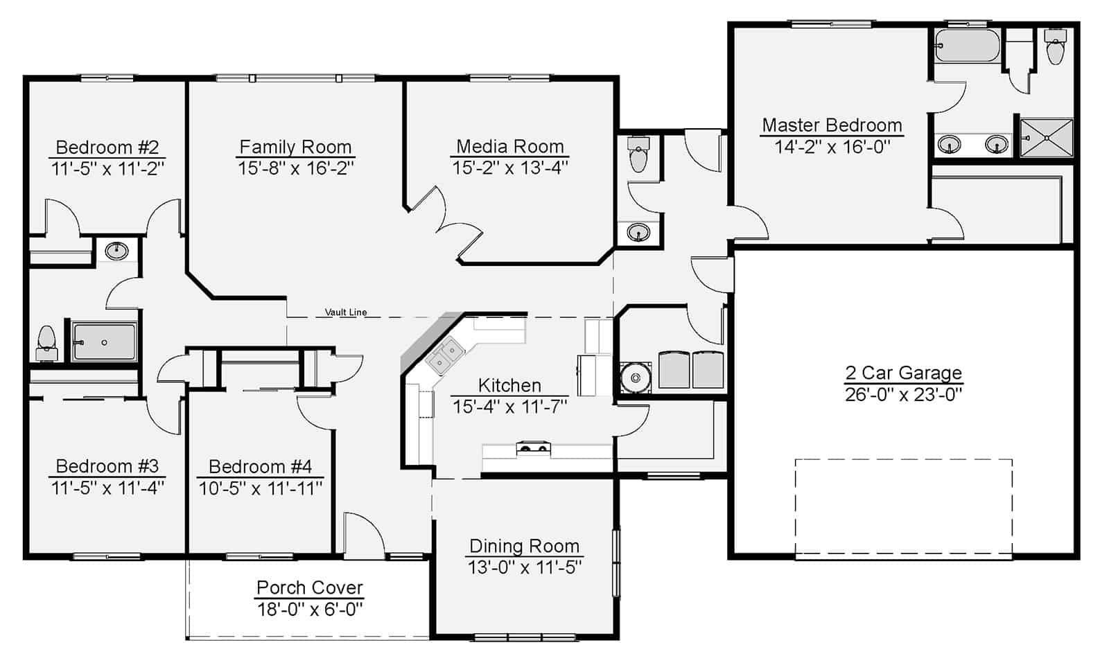 Hutchinson Floor Plan