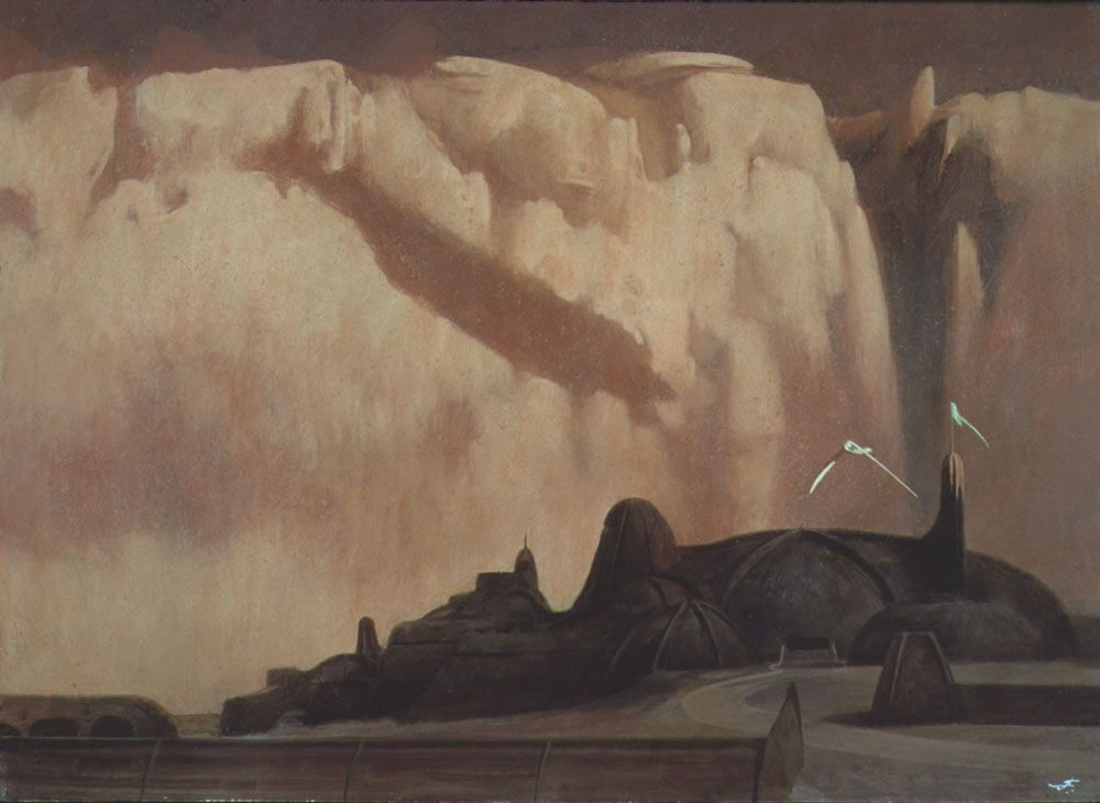 Iconic Dune Art From A Collection Of Rare Work By John