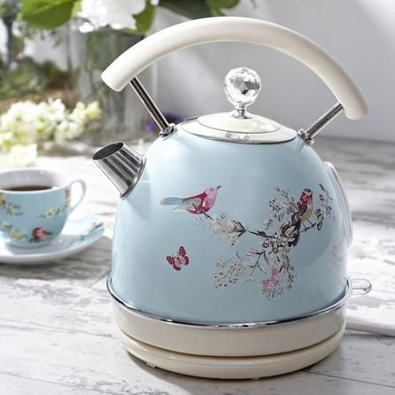 Beautiful Birds Duck Egg Kettle Dunelm Cream Kettle Duck Egg Blue Kettle Kettle