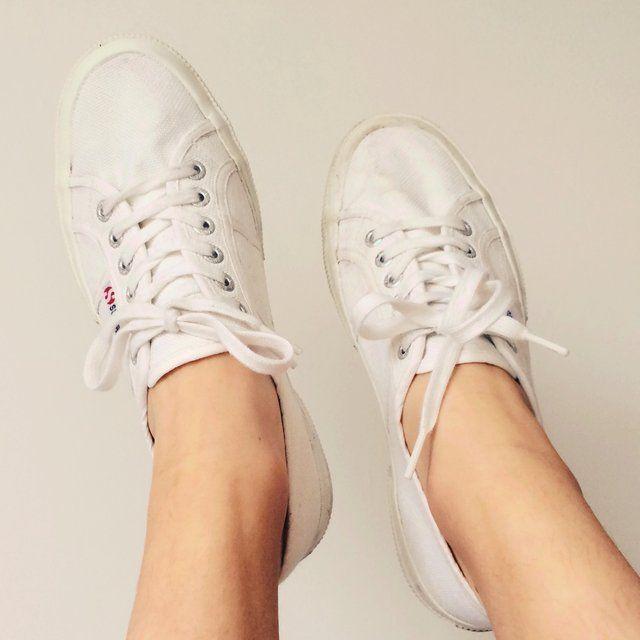 White Superga 2750 cotu Classic shoes. ...  6b7194d4a