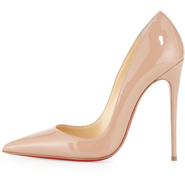 0ffa1c337376 Christian Louboutin So Kate Patent Red Sole Pump