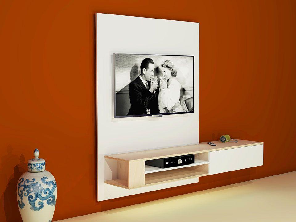 Furniture Plan Diy Modern Tv Cabinet Build Yourself A Hanging Tv