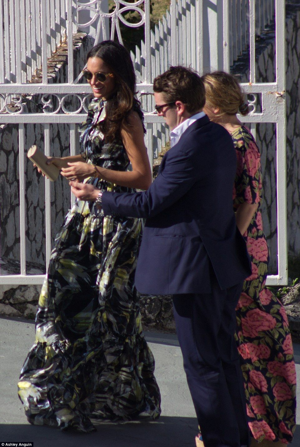 PICTURE EXCLUSIVE Meghan Markle and Prince Harry at friend\u0027s wedding