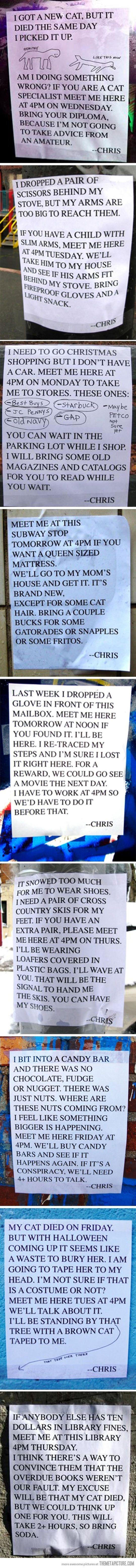 I M Pretty Sure I D Like To Meet Chris Laugh