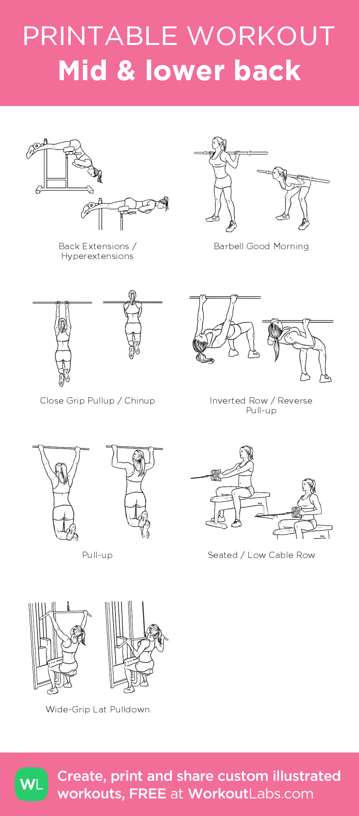 Back Workout Pdf