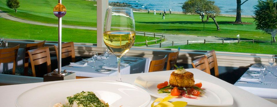 The Newest Addition To Pebble Beach Dining, The Bench Restaurant Offers  Incredible Views Of The Greatest Finishing Hole In Golf, Has An Open Air Atu2026