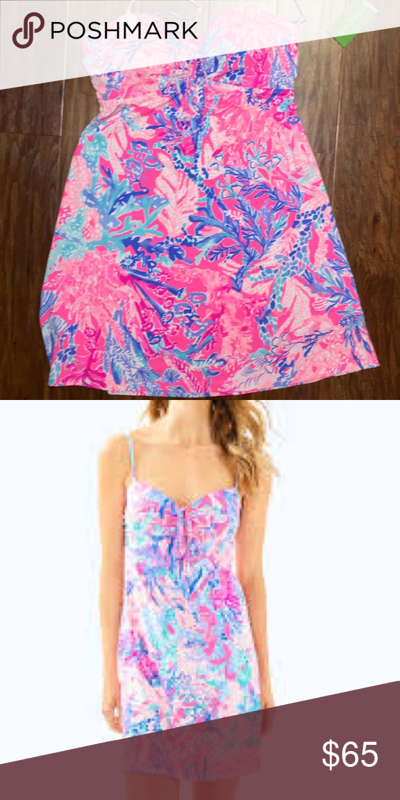 639e3971eaf30 NWT Lilly Pulitzer Swimsuit Coverup New with tags Lilly Pulitzer Women's Margarete  Cover Up, Light Pascha Pink Aquadesiac Lilly Pulitzer Swim Coverups