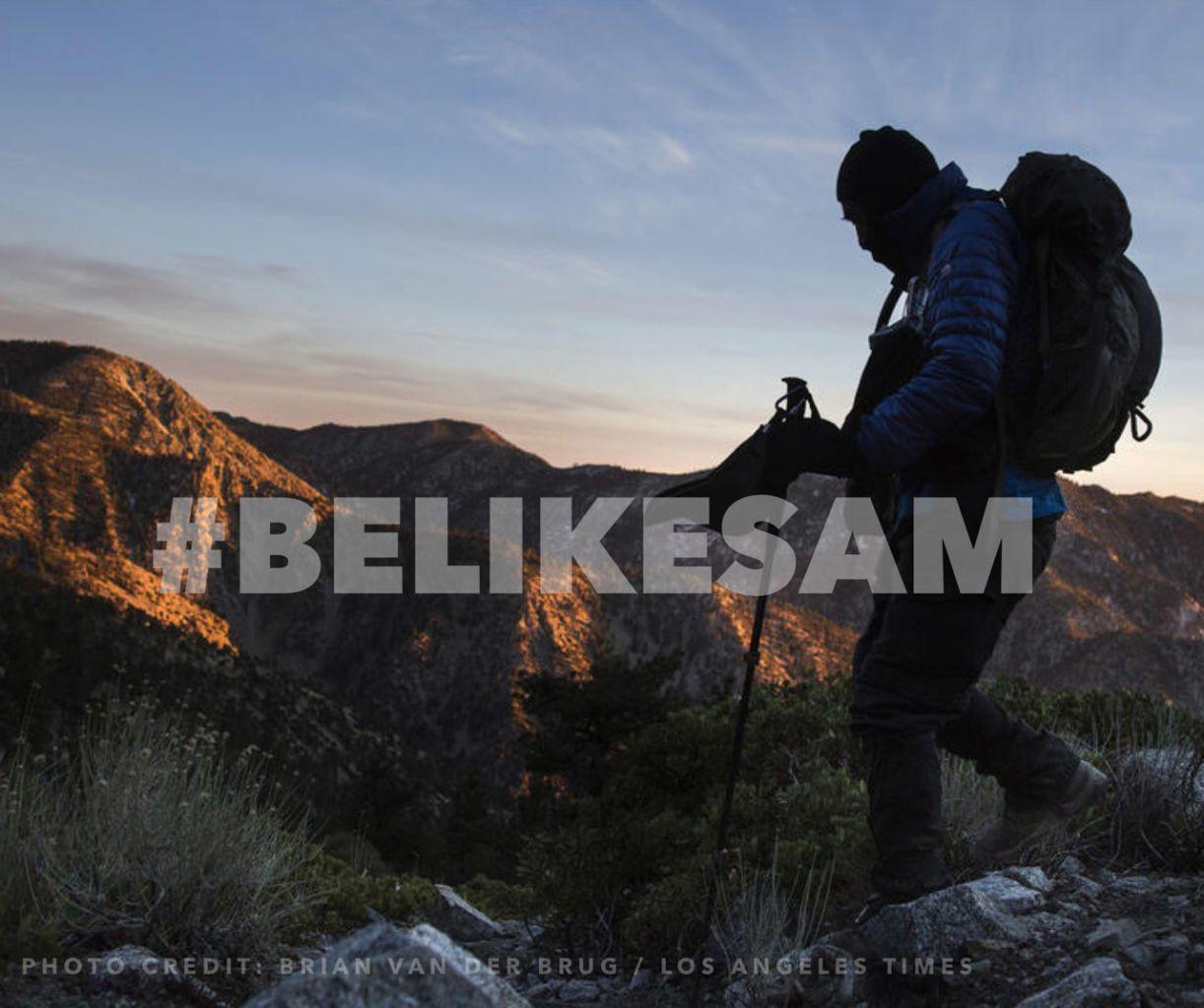 #BeLikeSam
