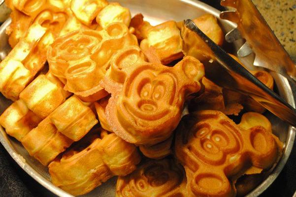 Breakfast at Walt Disney World
