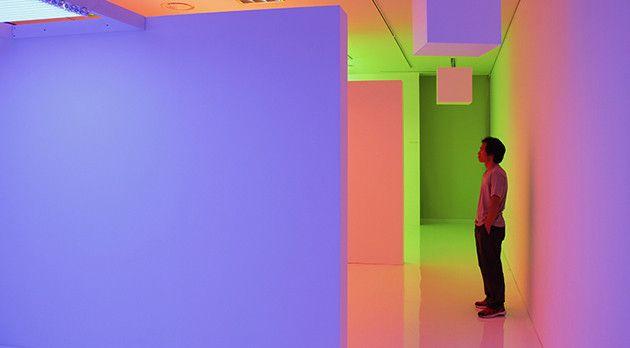 Carlos Cruz-Diez: inside the rainbow