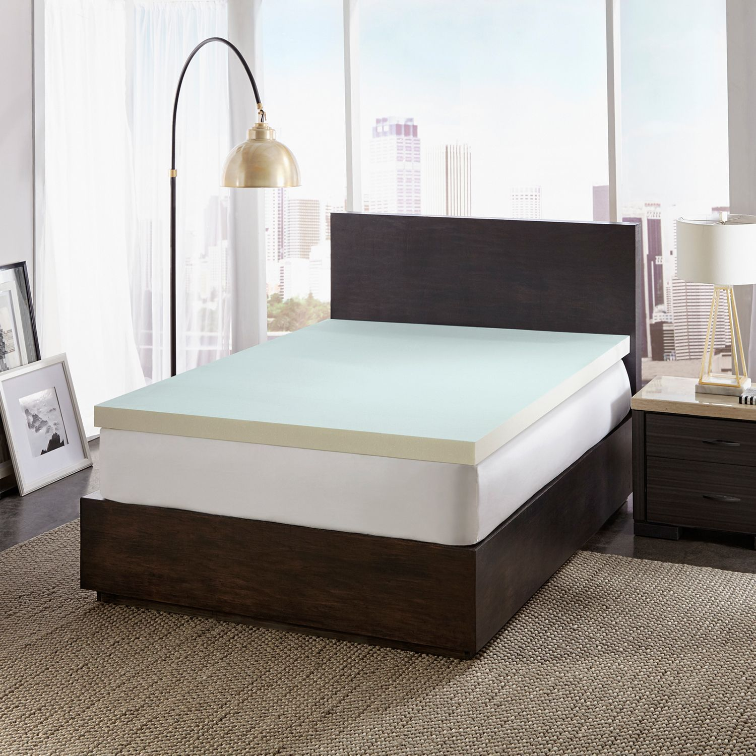 Dreamfinity 3 Cooling Memory Foam Mattress Topper Assorted Sizes