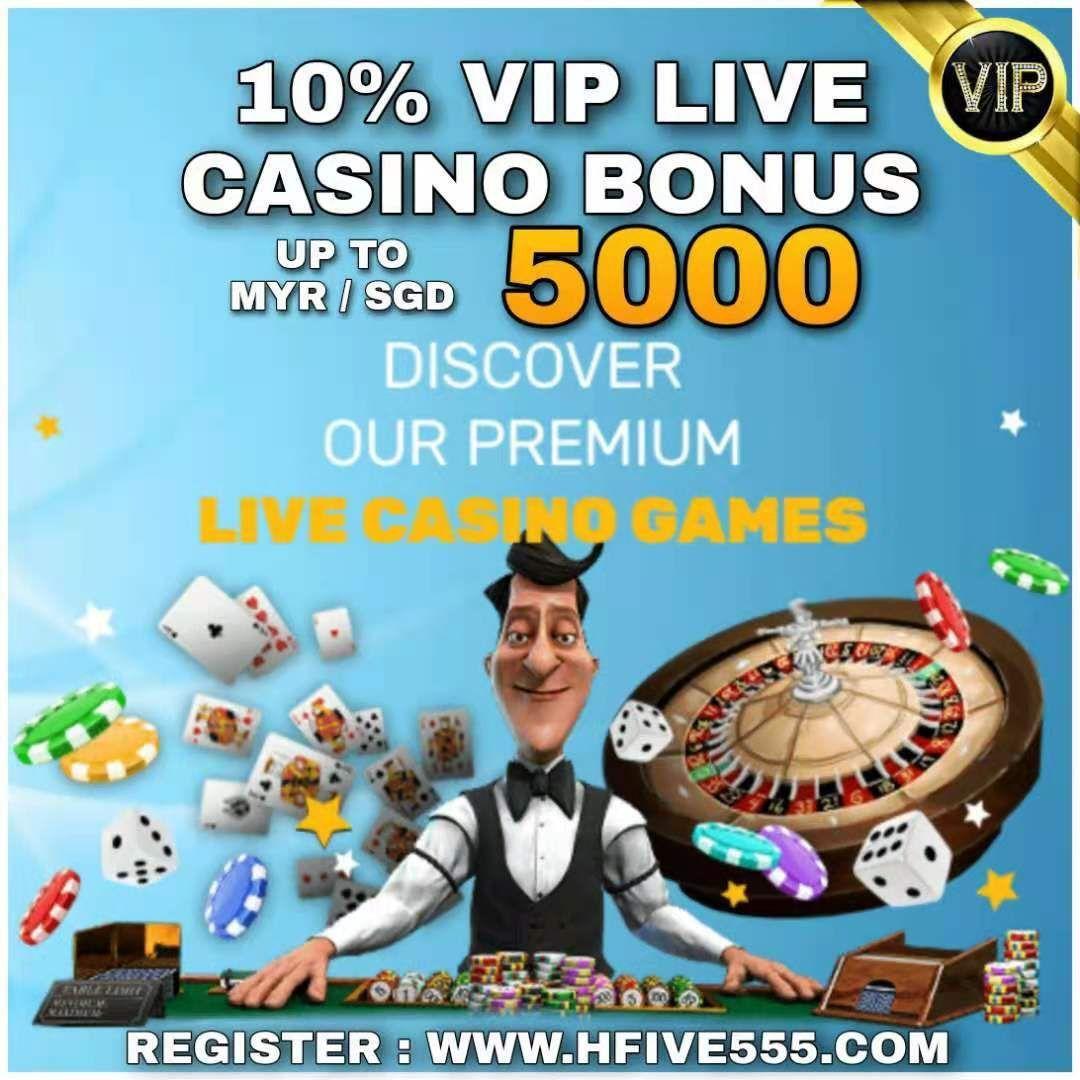 10 Vip Live Casino Deposit Bonus In 2020 Casino Live Casino Casino Bonus