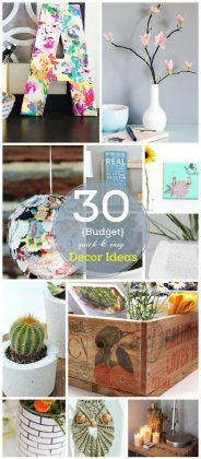 Click Pic for 30 DIY Home Decor Ideas on a Budget | DIY Home Decorating on a Budget