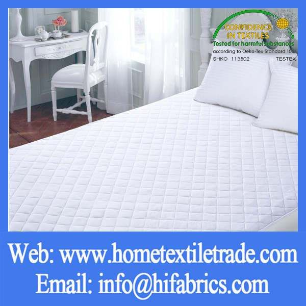 Single Size Bed Bug Blocker Zippered Mattress Protector In Tucson