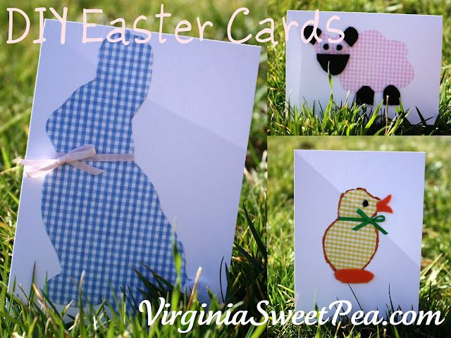 Make Your Own Easter Cards Using Cookie Cutters – Make Your Own Easter Cards