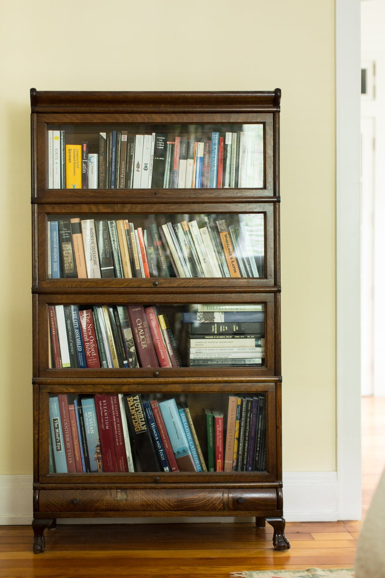 The bed and this bookcase are both family heirlooms.