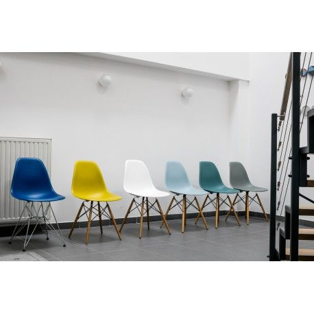 Buy Vitra Eames Plastic Chair Dsw Without Upholstery Old Colours By Charles Ray Eames 1950 Eames Plastic Chair Ikea High Chair Furniture Design Competition