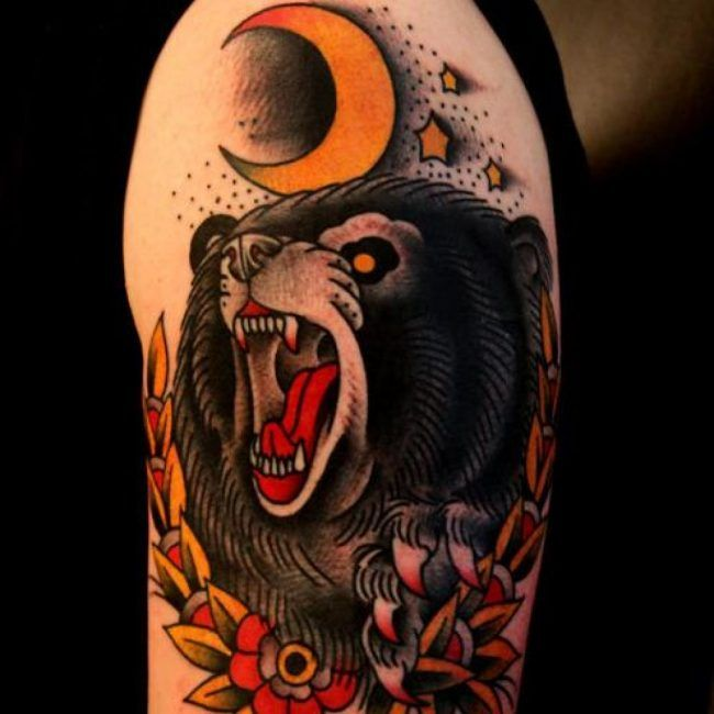 7eec0115c 50 Best Bear Tattoos | tattoo ideas | Bear tattoos, Tattoos ...