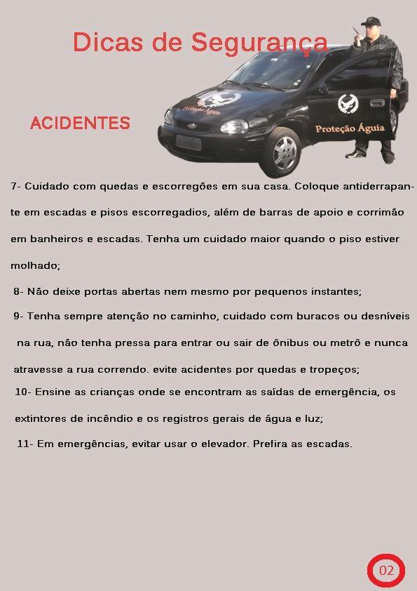 Dicas de Segurança Acidentes 2