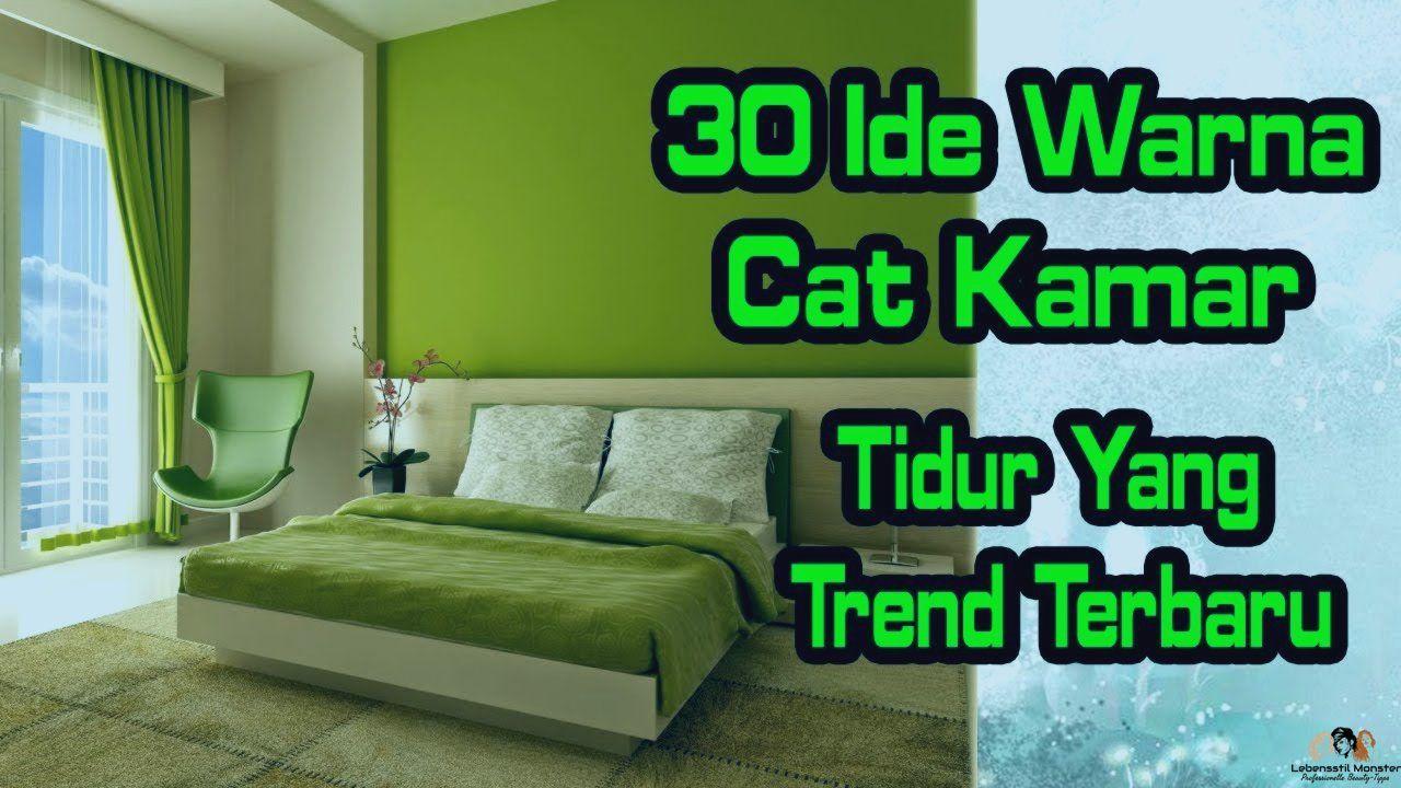 Cat Kamar Tidur Hijau