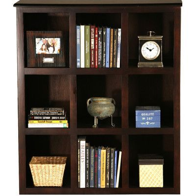 "AmericanHeartland Poplar 42"" Cube Unit Bookcase Finish: European Dusty White"
