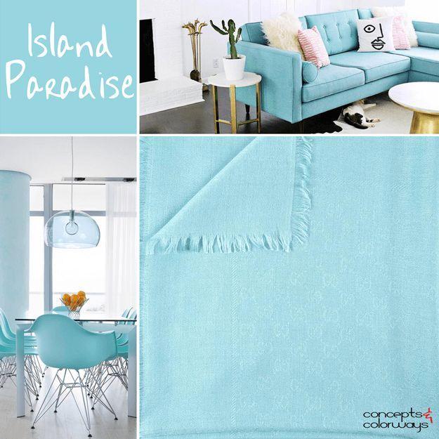 Pantone Island Paradise 2017 Color Trends For Interiors Light Turquoise Caribbean Blue Sky Bright Tiffany Aqua