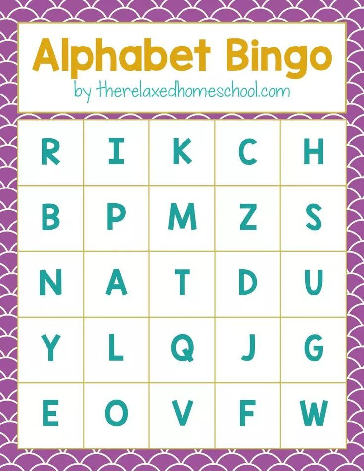 graphic regarding Alphabet Games Printable called Cost-free Printable! Alphabet Letters Bingo Activity - Down load listed here