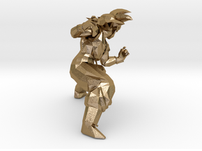 13f7c1c80ad6 3D Printed Goku Modelling - Dragon Ball Z in Polished Gold Steel ...