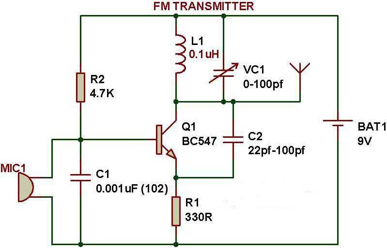 discovery tab fm transmitter fm transmitterfm transmitter allo rh pinterest com mini fm transmitter circuit diagram fm transmitter circuit diagram short range