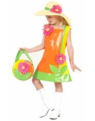Bright Flower Girls Costume