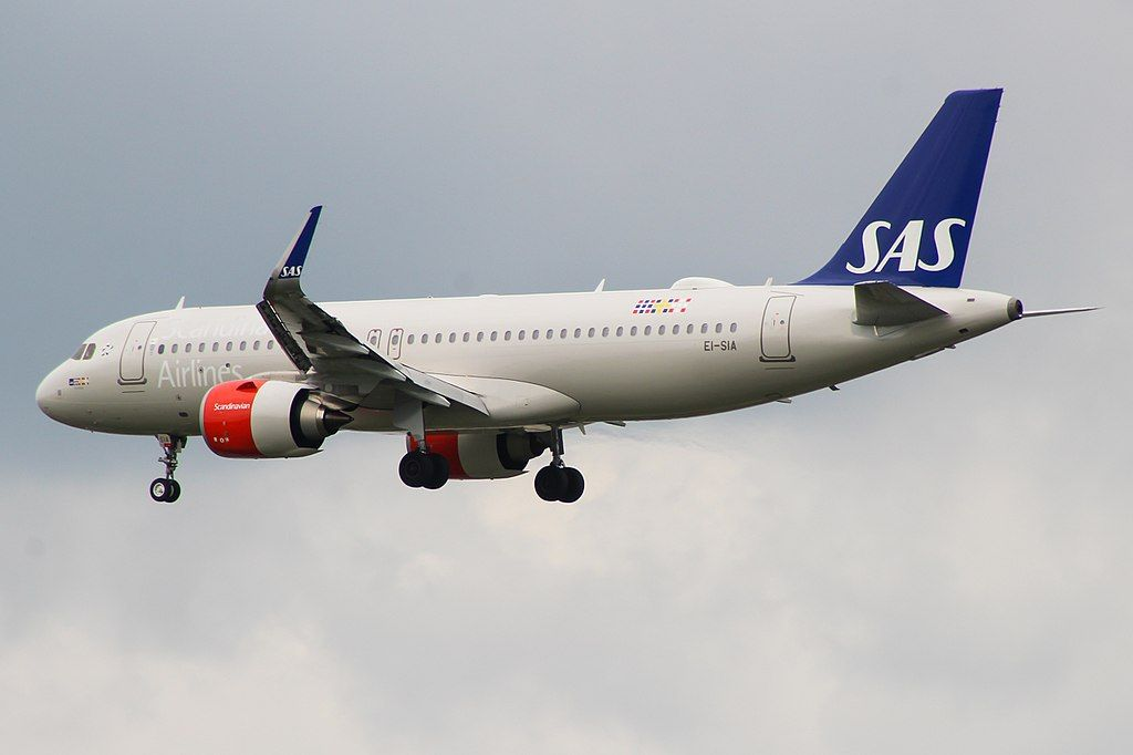 Ei Sia Airbus A320neo Ulv Viking Of Scandinavian Airlines Ireland At London Heathrow Airport Sas Airlines Fleet Airbus
