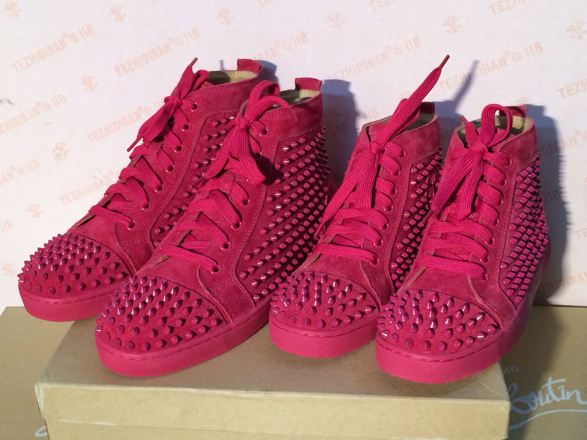 72226afff933 Hot pink sneaker women and men size