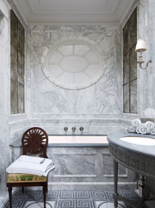 Traditional Bathroom By Michael S. Smith Inc. And Ferguson Shamamian  Architects In New York