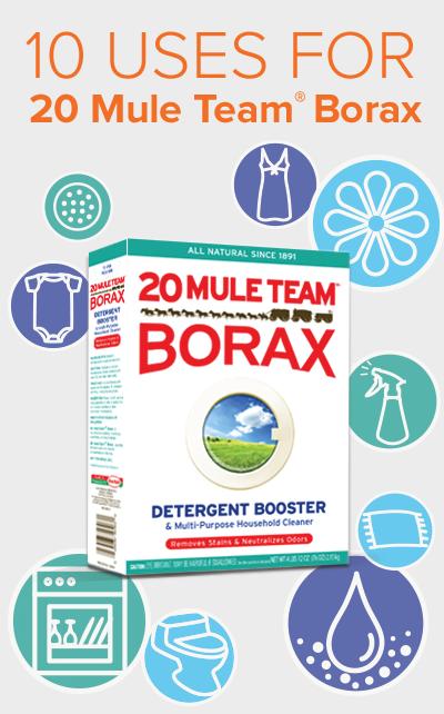 Uses For Borax Laundry Enhancer Household Cleaner Borax Uses Borax Household Hacks
