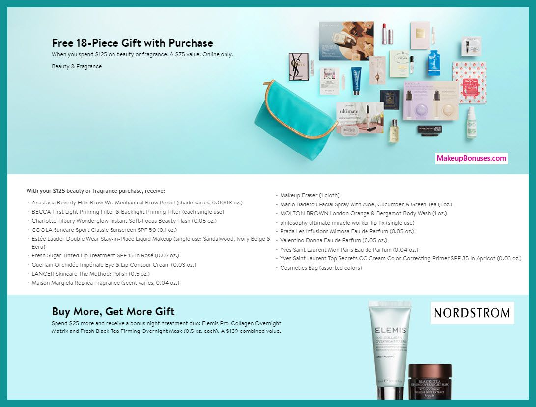 Beauty Gifts with Purchase! nordstrom nordstrom