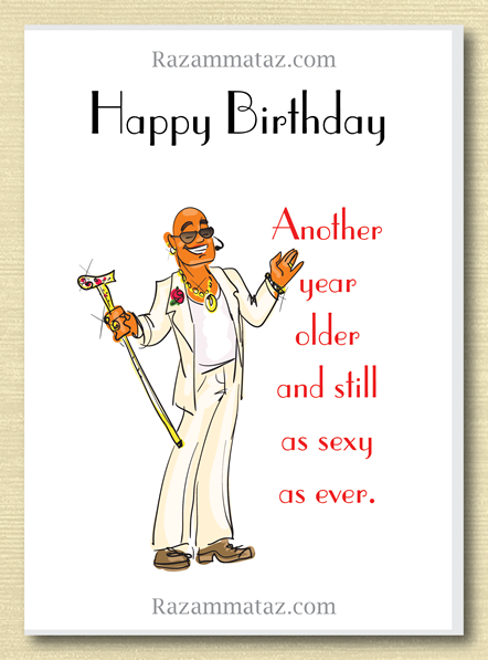 African American Male Birthday Card E
