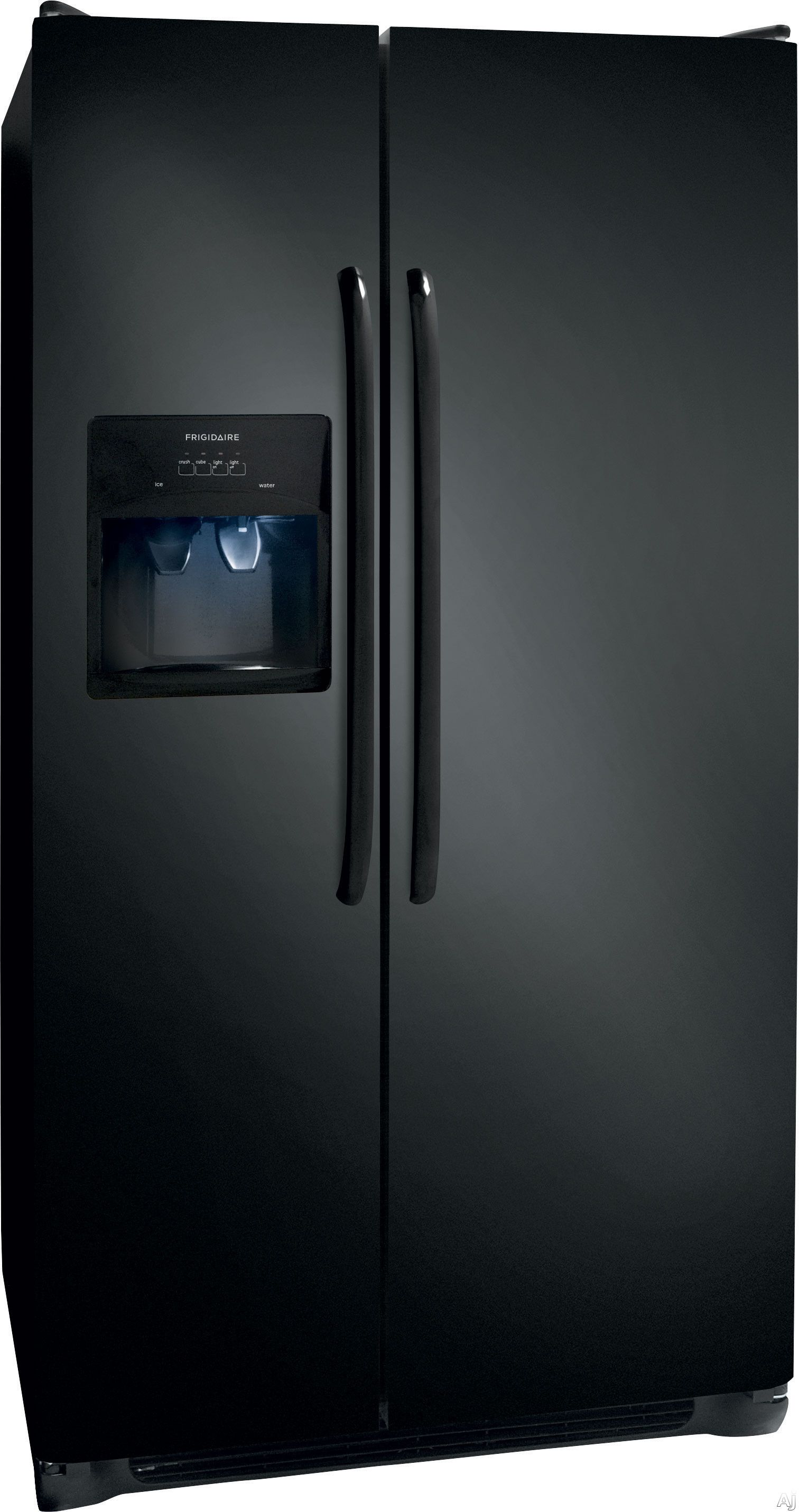 Frigidaire ffssqe cu ft side by side refrigerator with