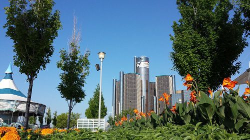 Rivard Plaza | Detroit Riverwalk