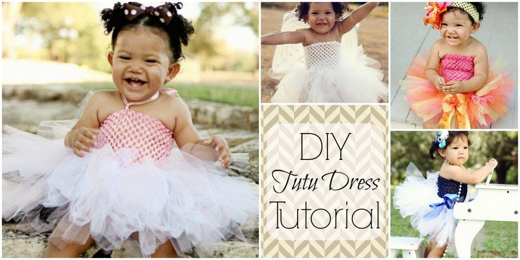 70129434f How to Make a Tutu Dress: What I'm Making Monday   DIY    Craft ...