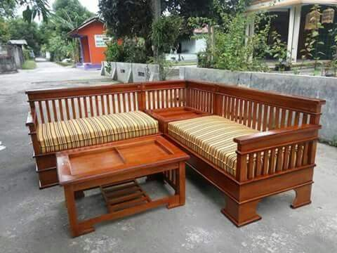 Pin By Khulna Door Company Dhaka On Perabot Sofa Design Wood Wooden Sofa Designs Corner Sofa Wooden